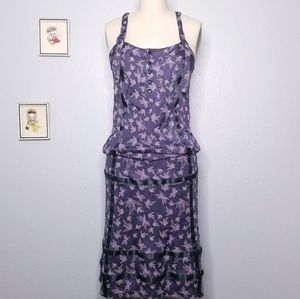 Diesel sleeveless rayon midi dress